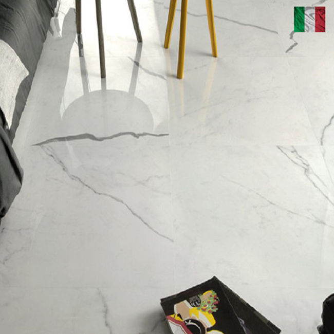 Picture of Calacatta Classico Polished Porcelain 595x295x9mm - 7 SQM Job Lot