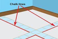 Where Is Best To Start Installing Tiles