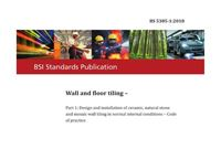 British Standards associated with Tile Installation