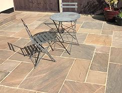 Picture for category AUTUMN UMBER SANDSTONE PAVING