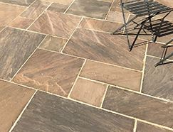 Picture for category CLASSIC AUTUMN UMBER SANDSTONE PAVING