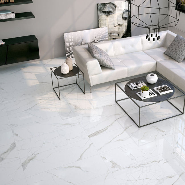 Picture of Marmo Calacatta Minimale Polished Porcelain Tiles