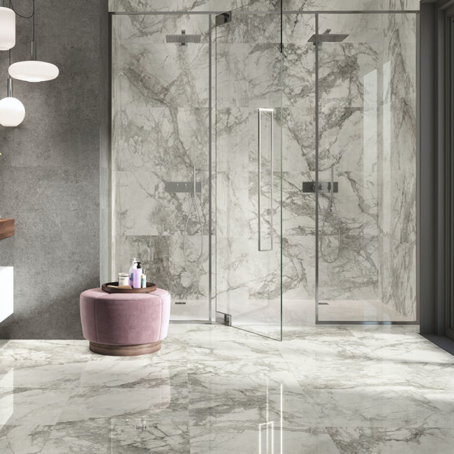 Picture of Marmo Venatino Polished Porcelain Tiles