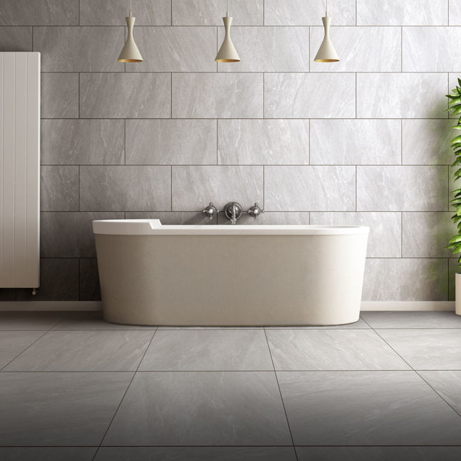 Picture of Archea Grigio Porcelain Tiles