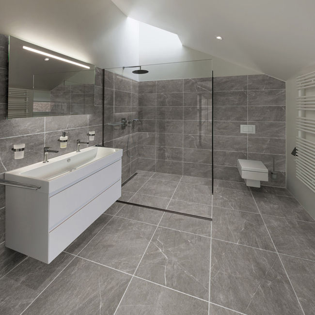 Picture of Stella Grigio Porcelain Tiles