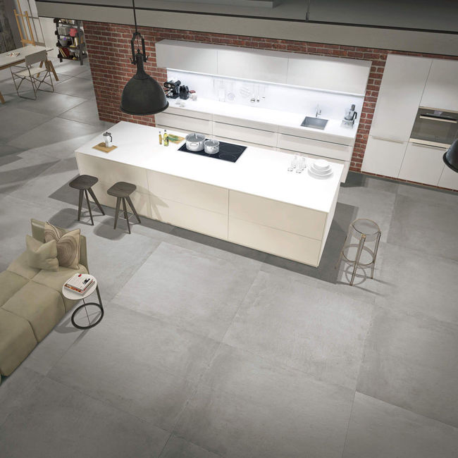 Picture of Mondo Grey Concrete-Effect Porcelain Tiles