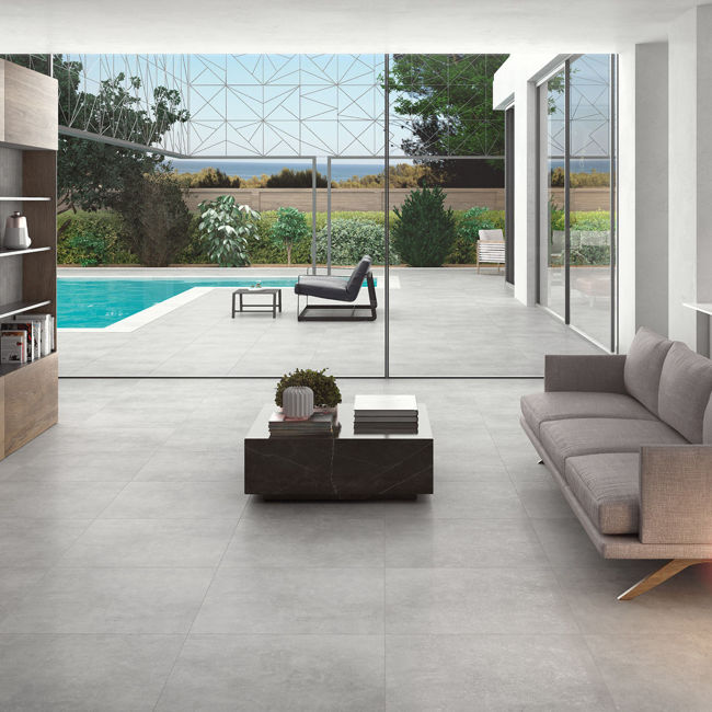 Picture of Urbahn Grigio Concrete-Effect Porcelain Tiles