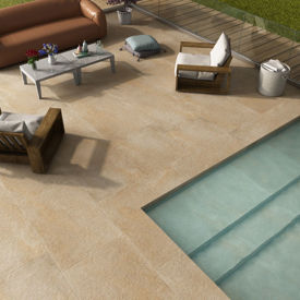 Picture of Rippon Beige Porcelain Paving Slabs