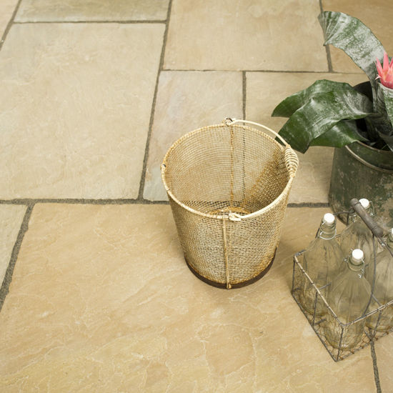 Picture of Classic Raj Imperial Sandstone 18.8 sqm Calibrated Paving Slab Pack
