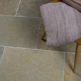 Picture of Avondale Limestone Tiles - Tumbled & Brushed