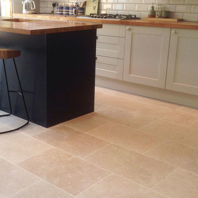 Picture of Dijon Limestone Tiles - Tumbled