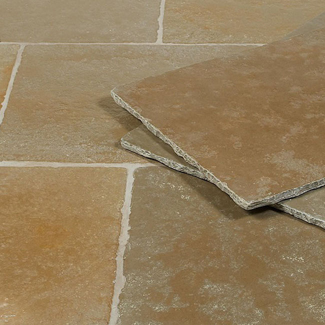 Picture of Jaipur Limestone Tiles - Tumbled & Brushed