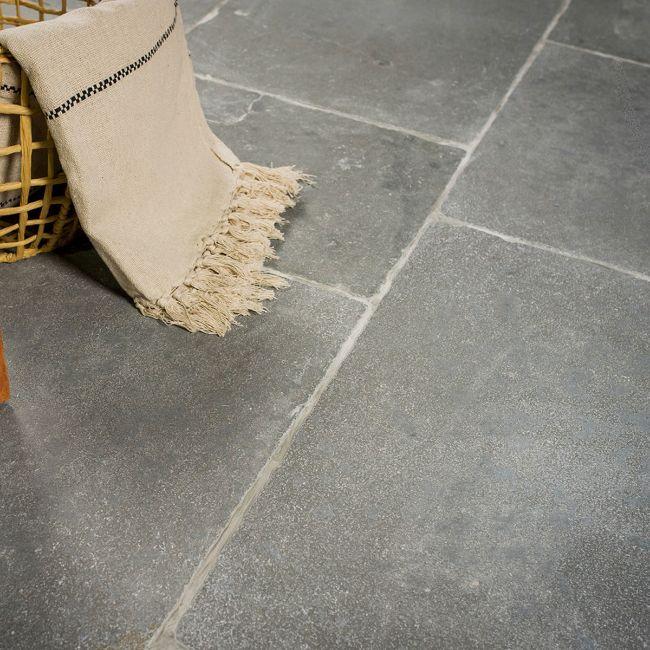 Picture of Rutland Grey Limestone Tiles -  Tumbled