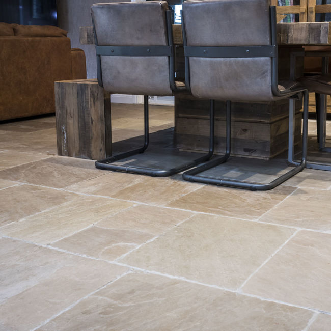 Picture of Tudor Sandstone Tiles - Brushed
