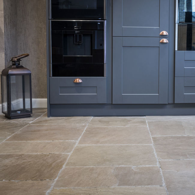 Picture of Tudor Sandstone Tiles - Brushed