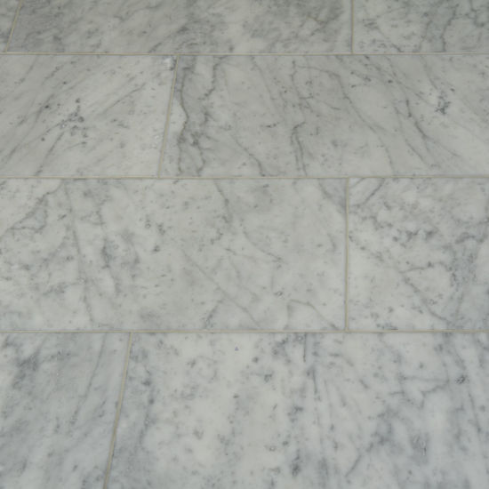 Picture of Bianco Carrara Marble Tiles - Honed