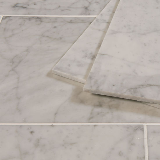 Picture of Bianco Carrara Marble Tiles - Polished