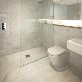 Picture of Ibiza Bianco Marble Tiles - Honed