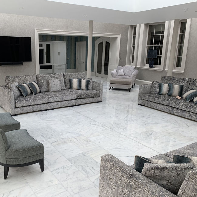 Picture of Ibiza Bianco Marble Tiles - Polished
