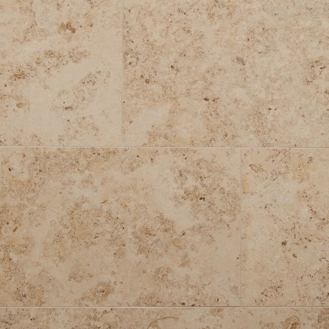 Picture of Jura Beige Limestone Tiles - Honed