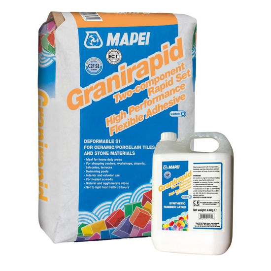 Picture of Mapei Granirapid White 2-Part Marble Adhesive
