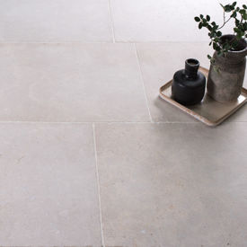 Picture of Menton Tumbled & Brushed Limestone Tiles
