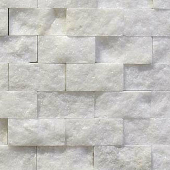 Picture of White Split Face Marble Tiles