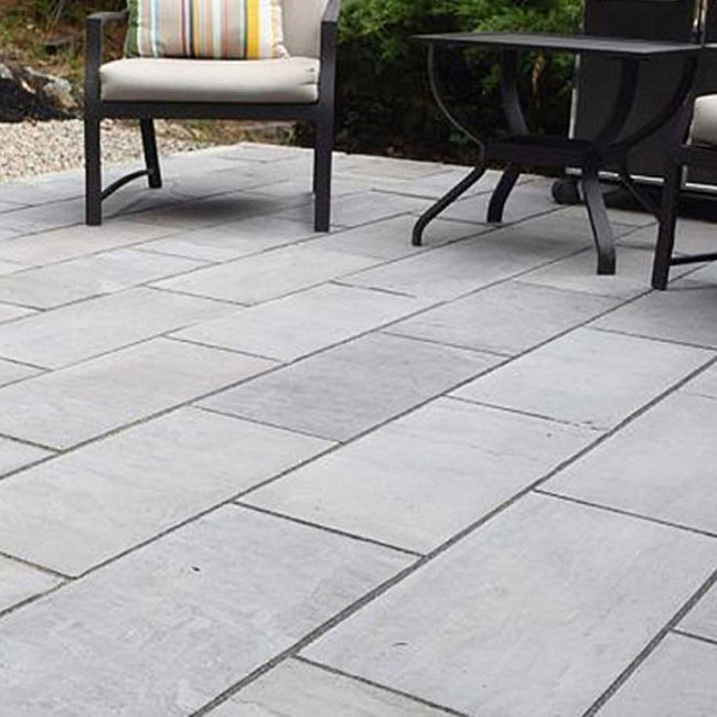 Picture of Classic Silver Grey 900x600mm Calibrated 22mm Paving - 9.1 SQM Job Lot