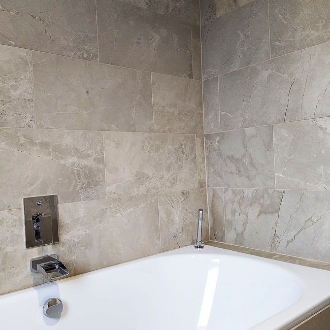 Picture of Tuscan Grey Limestone Tiles - Honed