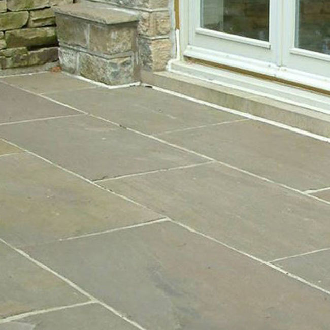 Picture of Classic Raj Imperial Sandstone Uncalibrated 600x900x18-23mm Paving - 17.3 SQM Job Lot