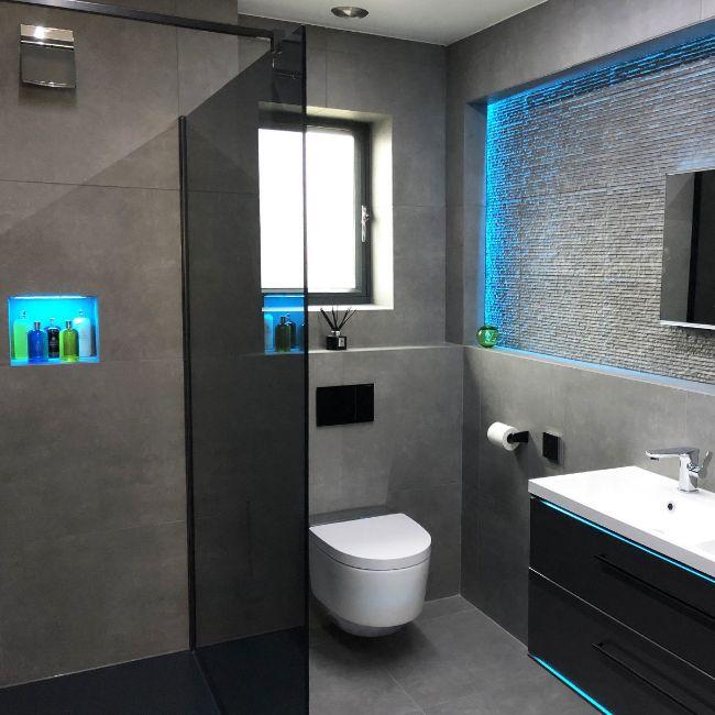 Picture of Urbahn Medio Concrete-Effect Porcelain Tiles