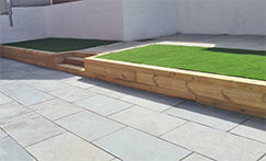 Picture for category STEEL GREY LIMESTONE PAVING