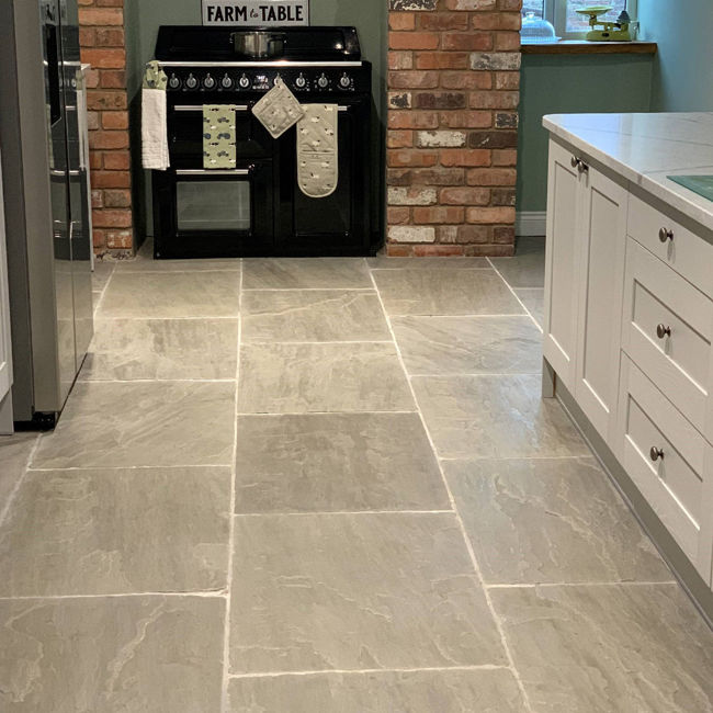 Picture of Umbrian Grey Sandstone - Brushed