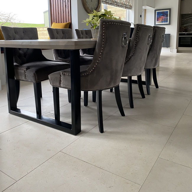 Picture of St Emilion Limestone Tiles - Brushed