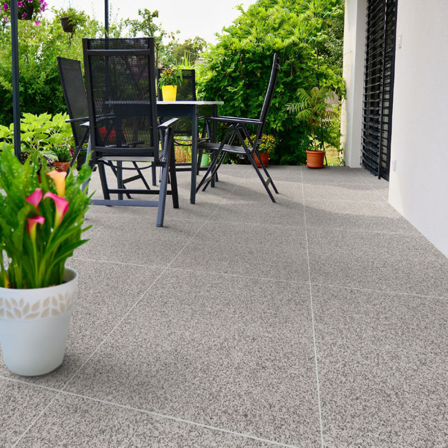 Picture of Granito Bianco Porcelain Paving Slabs