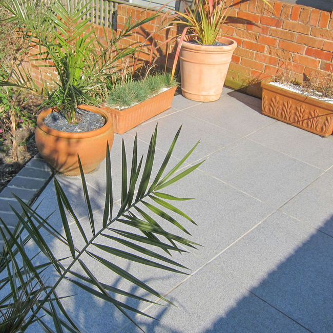 Picture of Granito Grey Porcelain Paving Slabs