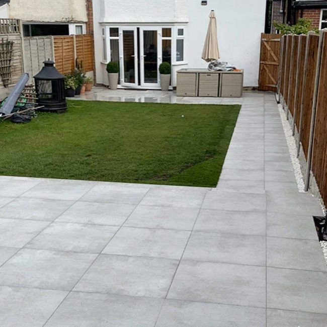 Picture of Eaton Gris Porcelain Paving Slabs
