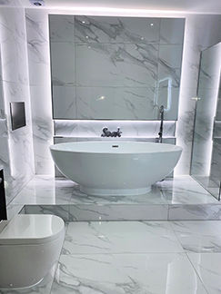 Picture for category TIMELESS WHITE CARRARA POLISHED PORCELAIN
