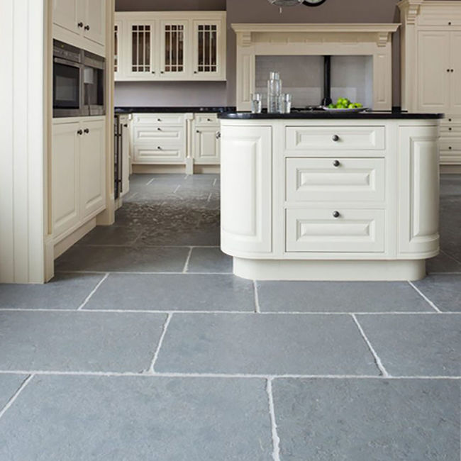 Picture of Parisian Grey Limestone Tiles - Tumbled