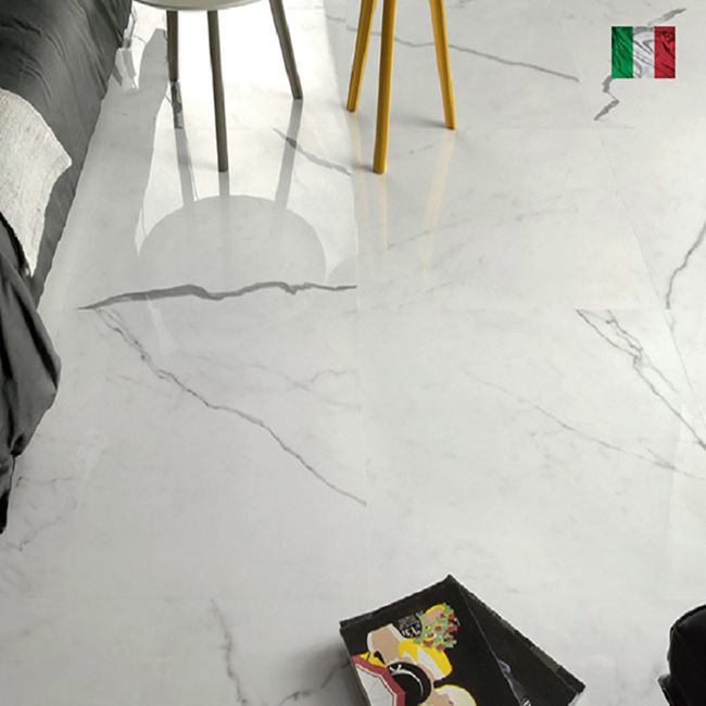 Picture of Calacatta Classico Natural Porcelain Tiles