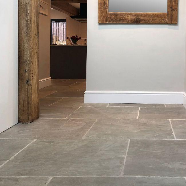 Picture of Umbrian Grey Sandstone - Brushed