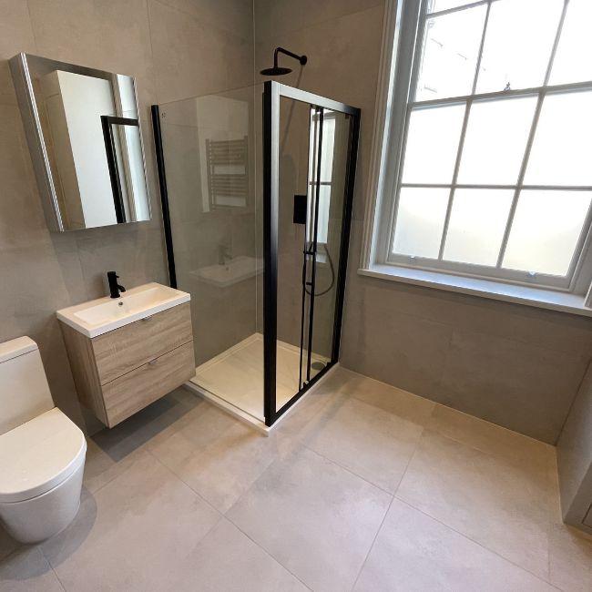 Picture of Cementone Light Concrete-Effect Porcelain Tiles