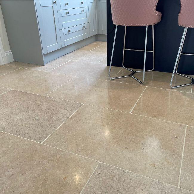 Picture of Dijon Limestone Tiles - Tumbled
