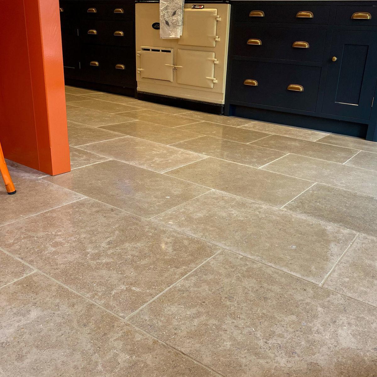 Dijon Limestone Tiles   Tumbled