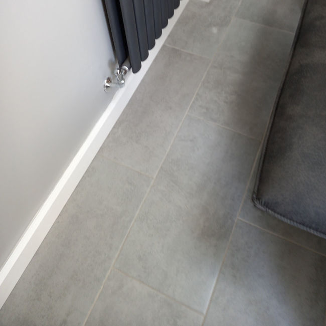 Picture of Signol Grey Concrete-Effect Porcelain Tiles