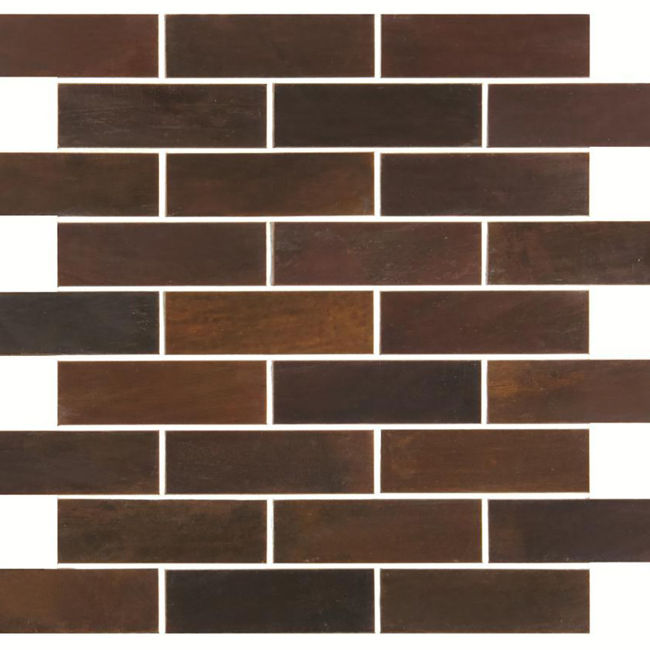 Picture of Alchemy Copper Brick Mosaic Tiles