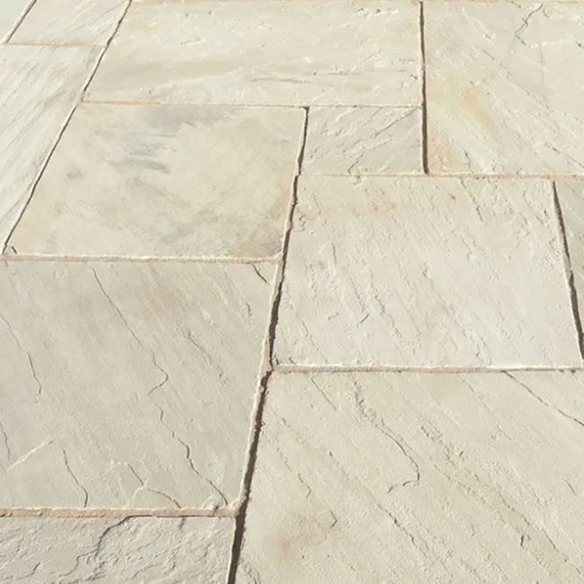 Picture of Classic Honeymead Sandstone 18.8 sqm Calibrated Paving Slab Pack