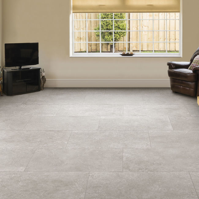 Picture of Shaftesbury Greige Antique Effect Porcelain