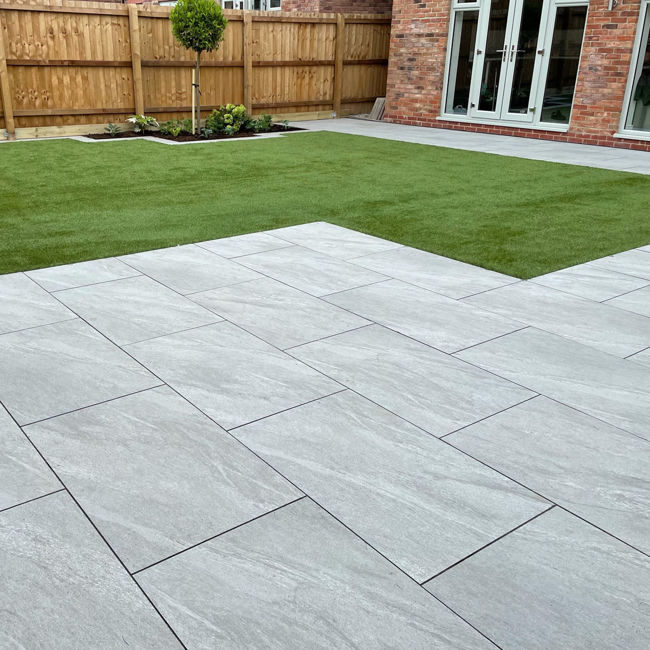 Picture of Lagos Grey Porcelain Paving Slabs