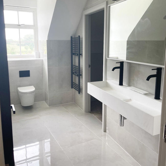 Picture of Onyx Pearl Polished Porcelain Tiles